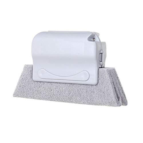ACAMPTAR venster Groove schoonmaken borstel schoonmaken tool vegen de kleine borstel om de vensterbank spleetborstel grijs schoon