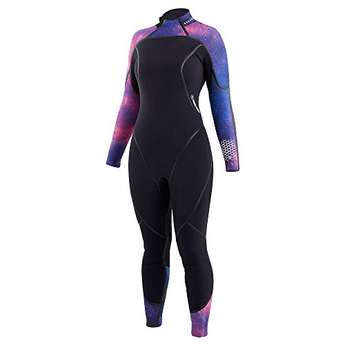 Aqualung Aquaflex 3mm Women's Wetsuit (18, Galaxy/Black)
