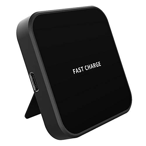 P Prettyia Cargador Inalámbrico, Cargador Inalámbrico con Cable USB C, Campo para 12/12 Pro / 12 Pro MAX / 12 (sin Fuente de Alimentación) - Negro