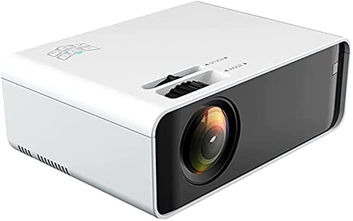 OHHG Mini Projector, Mini Projector Box, 8000 Lumen 480P HD Projector Home Theater Connected with Computer Set Top Box