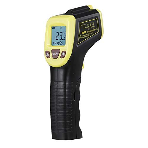 KKmoon Infrarot Thermometer, Digitale Temperaturpistole Berührungslose Industrielle Temperaturmesser -58 bis 1112 ° F (-50 ° C bis 600 ° C), für Kochen/Barbecue/Gefrierschrank/Industrie