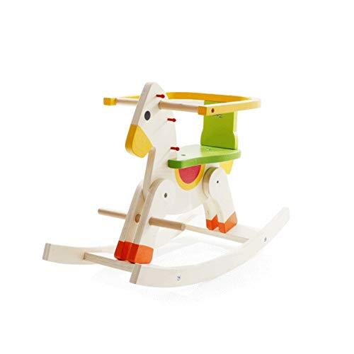 YWSZJ Kinderholzpferd Schaukelstuhl 3-5 Jahre alt Glatt und Hairless Holz-Spielzeug Kind Lieblinge