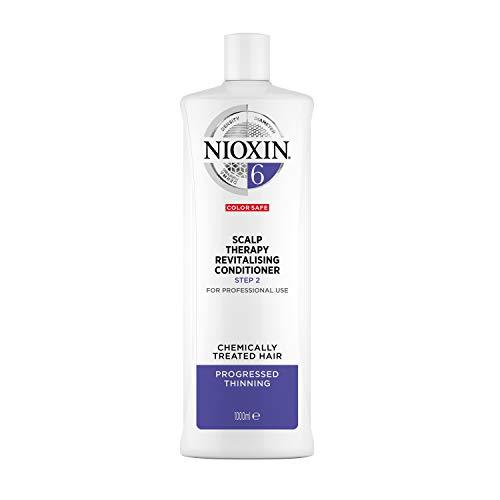 NIOXIN - Acondicionador Scalp Therapy Revitalizing - para Cabello Tratado Químicamente y muy Debilitado - Sistema 6 - Paso 2 - 1L