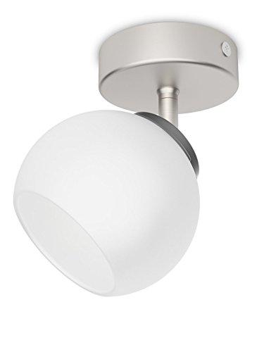 Philips 533201716 Balla Luminaire d'Intérieur Spot LED Métal Chrome 4 W