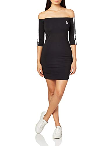 adidas Off-The-Shoulder W Vestido Black