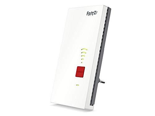 AVM FRITZ!WLAN mesh repeater 2400 (dual WLAN AC + N tot 1.733 Mbit/s (5GHz) + 600 Mbit/s (2,4 GHz), 1 x Gigabit LAN, Duitstalige versie)