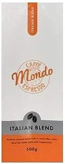"""Caffe' Mondo 8 X 500g """"Italian Blend"""" Coffee Beans"""