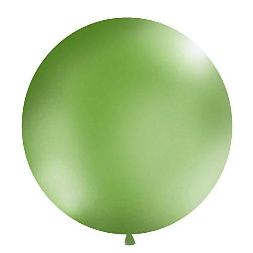 Simplydeko XXL Ballon 100cm | Riesenballon-Deko für Party, Garten und Hochzeit | Luftballons (Grün)