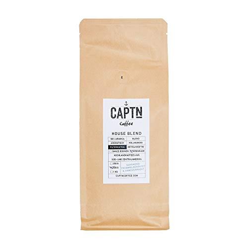 House Blend Kaffee Gemahlen | 100% Arabica Single Origin | 500 G | Direkt Gehandelt | Schonend Trommelgeröstet | Handverpackt | Filterkaffee | Premium Qualität | Ideal als Geschenk (500 g)