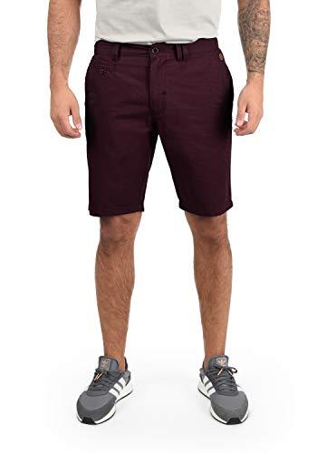 BLEND Sasuke Herren Chino Shorts kurze Hose, Größe:XL;Farbe:Wine Red (73812)