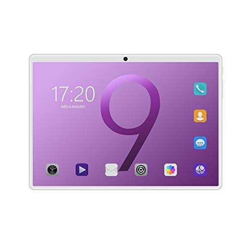 ZYHB 10 inch Tablet, Android 9.0 Pie, 6GB RAM, 64GB Storage, 16MP Rear Camera, 2560 x 1600 IPS Full HD Display, Bluetooth 4.0, Wi-Fi, GPS for Parents and Children (Color : Purple)