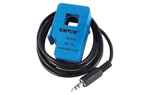 YHDC HST40 Hall Split Core Current Sensor Input 1000A Output 4V Voltage15V Blue