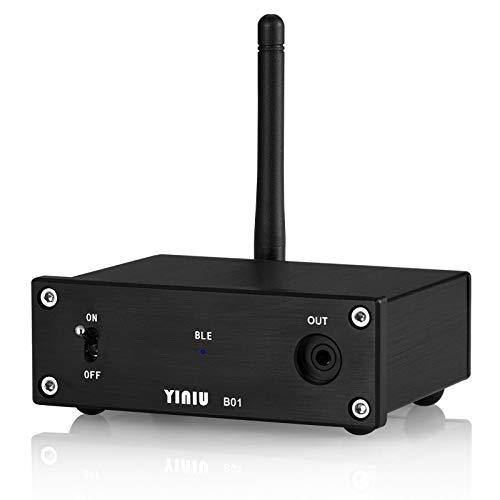 Nobsound Bluetooth 5.1 APTX-HD Lossless Audio Receiver HiFi Decoder DAC Coax/Opt Digital to Analog Converter Home/Car Audio Bluetooth-Empfänger Headphone Amp (Bluetooth 5.1)