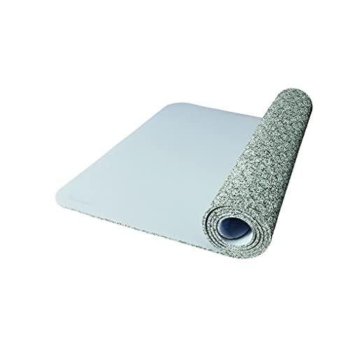Nike Evolve - Esterilla de yoga unisex para adultos, color gris claro, 180 cm