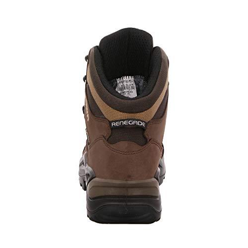 Lowa Renegade GTX Bottes de randonnée pour homme Taille basse - Noir - noir noir, 7.5 UK Wide