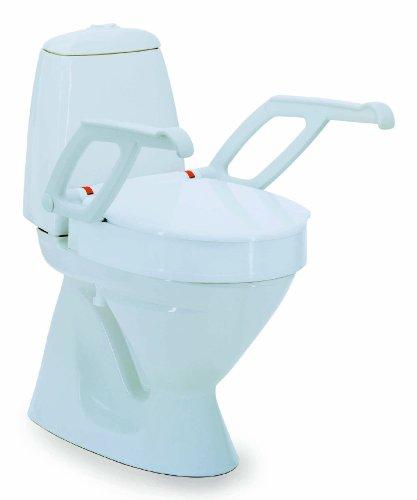 Invacare Aquatec 90000 toiletbril verhoger Wit Hoogte 6cm