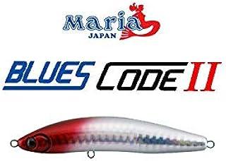 マリア(Maria) ミノー ブルースコード2 110 110mm 24g レッドヘッド 06H 556-513 ルアー