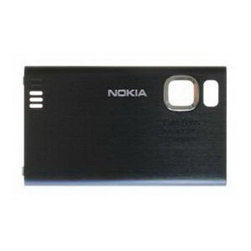 Nokia 6500Slide Copri Batteria Copribatteria Cover nero