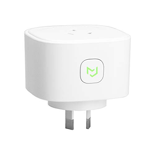 Meross Smart Plug WiFi Outlet with Energy Monitor, App Remote Control, Timing Function, Works with Amazon Alexa, Google Assistant, SmartThings and IFTTT, SAA & RCM Certified