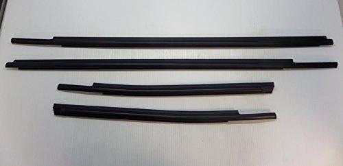 Toyota Tundra Double Cab 2007-2019 4pc Exterior Weatherstrip Belt Molding Set Genuine OE OEM
