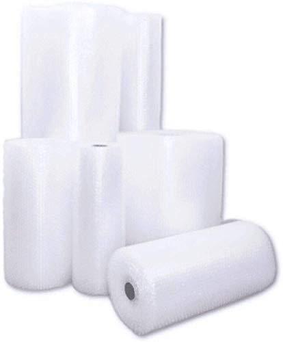 Rollo de plástico de burbujas (grosor 40 my, ancho 50 cm, longitud 5 m)