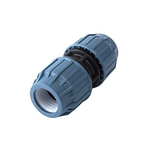 PE-Rohr Kupplung PP Verschraubung Fittinge 16 20 25 32 mm - DVGW (20 mm)