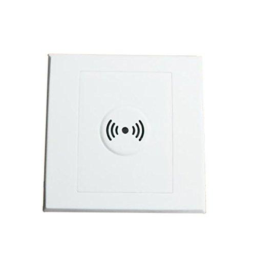 Wandschalter Akustikschalter Lichtschalter Sound Sensor Licht Weiß