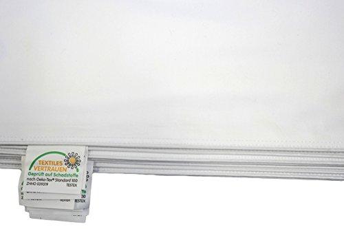 TM Maxx Inlett - Inletts 100% Baumwolle Qualität Kissenhülle Weiß Verschiedene Größe (40x80cm)