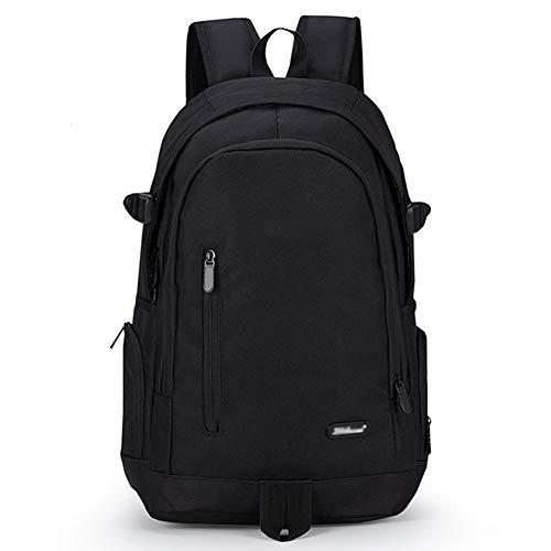 Rucksäcke Sports Rucksack Schulrucksack Schulranzen Schultasche Freizeitrucksack Daypacks Backpack für Mädchen Jungen Damen Herren Jugendliche(Schultaschen Schwarz)