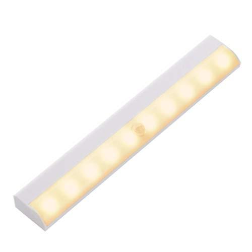 センサーライト LED 屋内 電池式 玄関 防犯 車庫 マグネット 人感 室内 フットライト 足元灯 照明 電球 クリスマス 屋外 aja-356 (暖色)