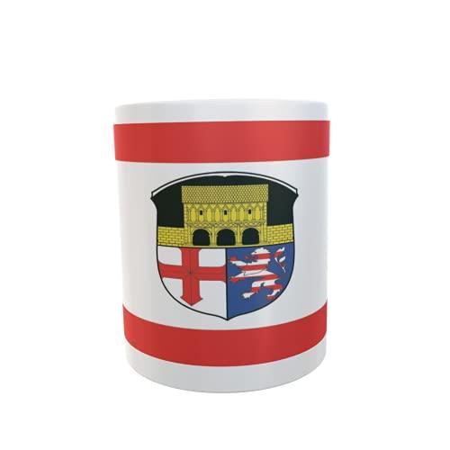U24 Tasse Kaffeebecher Mug Cup Flagge Lorsch