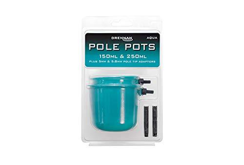 Drennan Pole Pots 150ml & 250ml Aqua