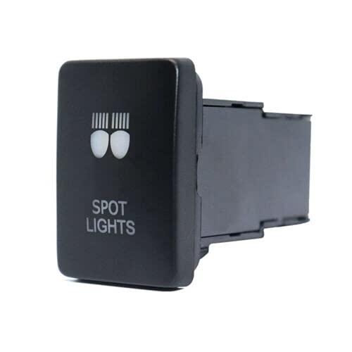 Relé de Coche Coche azul pulsador Interruptor de botón automotrices accesorios para automóviles