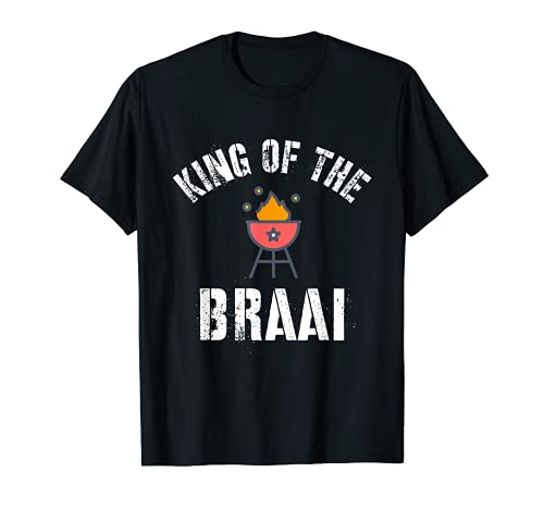 Rey de la barbacoa braai, ex pat sudafricano Camiseta