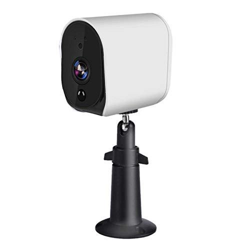DAUERHAFT Cámara IP WiFi Alerta en Tiempo Real Sensor de Movimiento Batería Cámara IP HD IR-Cut para Alexa Google HomeSistemas de Voz Inteligentes 1080P
