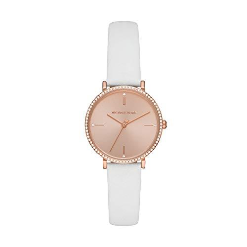Michael Kors Women's Jayne Three-Hand Rose Gold-Tone Alloy Watch MK7115