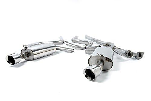 Sport Auspuff Milltek SSXFD080 Anlage ab KAT | DPF (TÜV) Kompatibel zu: Mondeo ST220 (166 kW /226 PS) | HSN: 8566 | TSN: 496 | Mondeo (B4Y/B5Y/BWY) 5-Türer Schrägheck
