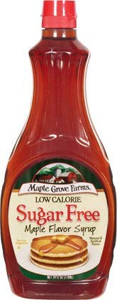 Maple Grove Farms Low Calorie  Sugar Free Syrup 2 Pack