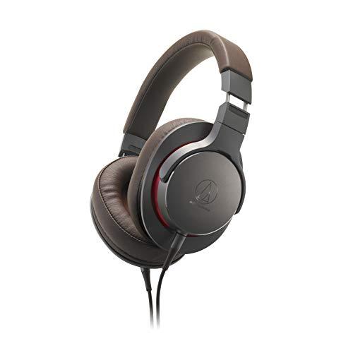 AUDIO TECHNICA ATH-MSR7B Auriculares Marrón y Gris, Diadema