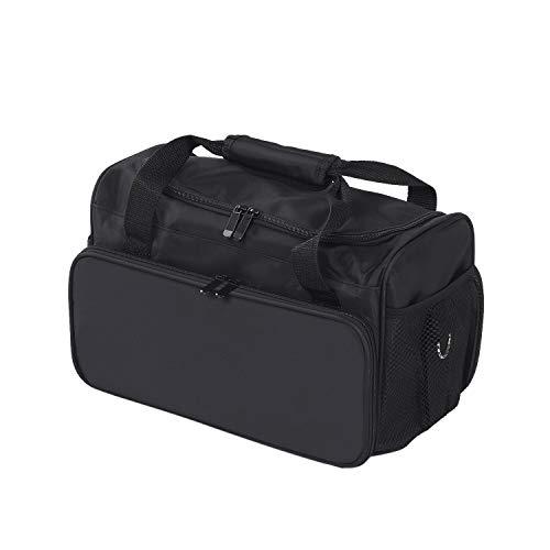 Friseurtasche Anself Tragbare mhängetasche für Friseurwerkzeuge Friseur Bag Aufbewahrungskoffer für Friseurbedarf Werkzeugtasche Kosmetiktasche mit Schultergurt
