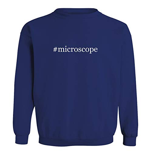 #microscope - Men's Soft & Comfortable Long Sleeve T-Shirt, Blue, XXX-Large