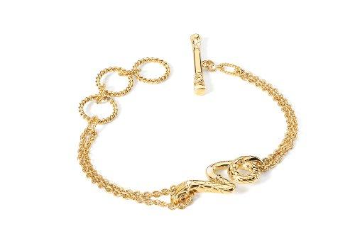 Just Cavalli Damen-Armband Edelstahl 20 cm - SCJH08