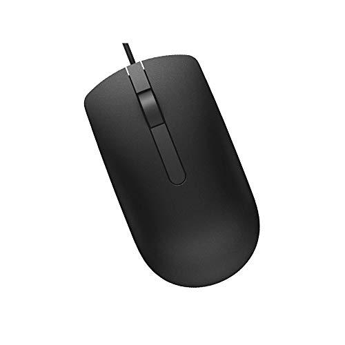 Dell MS116t 0DV0RH DV0RH 3-Button Wired Optical USB Mouse 1000-DPI Black