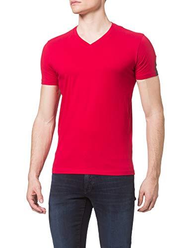 REPLAY M3136 Camiseta, 558 Rosso, XL para Hombre