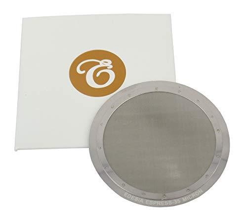Edesia Espress - Filtro reutilizable para cafeteras AeroPress - Acero