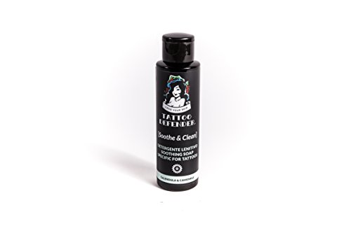 Tattoo Defender Soothe & Clean - tattoo soap jabon neutro para nuevo...