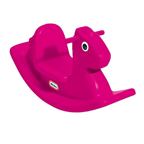 Little Tikes 400G00060 - Cavallo a dondolo, colore: Rosa