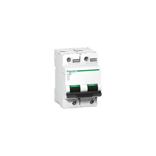 Schneider Electric A9N18363 Interruptor Automático Magnetotérmico C120N, 2P, 125A, curva C