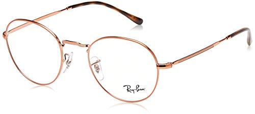 Ray-Ban Unisex-Erwachsene 0RX 3582V 2943 49 Brillengestelle, Silber (Copper)