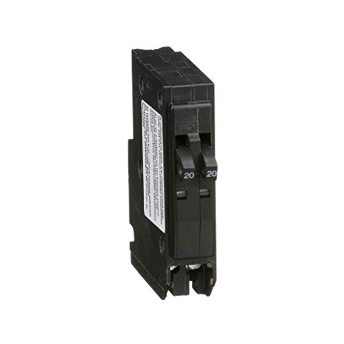 Square D by Schneider Electric QO2020C Circuit Breaker, Gray